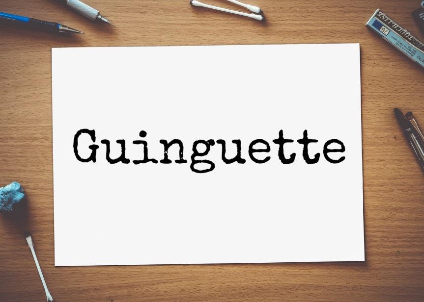 Guinguette – Le Mot du mois#3